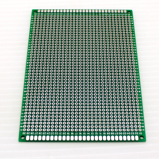 8cmx12cm Double sided PCB Protoboard