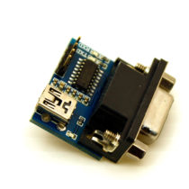RS-232 TO SERIAL CONVERTER BOARD