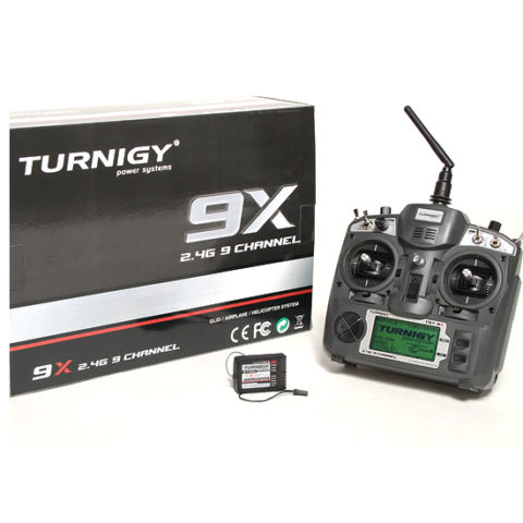 TURNIGY 9X-9 CHANNEL TRANSMITTER WITH MODULE (MODE 2)