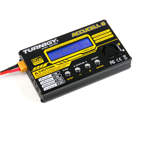 TURNIGY ACCUCEL-6 80W MULTI PURPOSE CHARGER