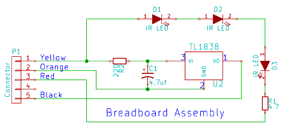 wifi2ir-kit-connections