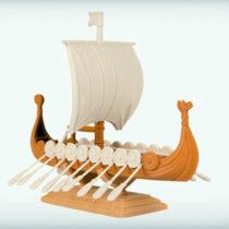 Drakkar Ship 1