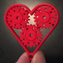 heart keychain 1