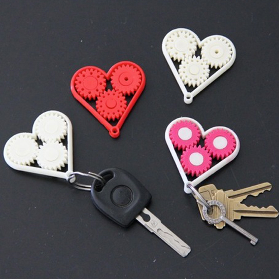 makerskartgear heart keychain makerskart