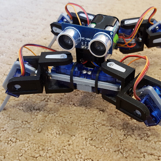 Makerskartmini quadruped kit makerskart
